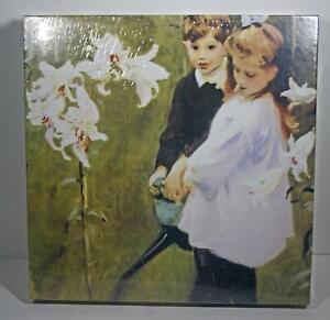 NEW 500 Piece Puzzle Laurel Ink Garden Study of Vickers Children John Sargent