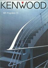 Kenwood Katalog Prospekt L-1000 DP-X9010 KA-V8500 KR-V9030 KX-9050S KT-7020