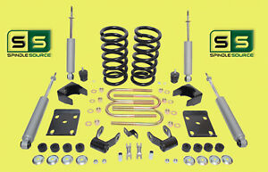 "1997 - 03 Ford F-150 F150 V6  2WD 3"" / 5"" Drop Lowering Kit Coils SHOCKS 1211AC"