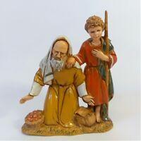 Inginoc.Con bimbo costumi storici Moranduzzo Landi cm 10 | Presepe Personaggi St