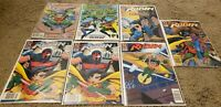 Lot of 7 DC Robin Comic Books