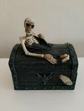 Nemesis Now Dead Mans Chest trinket box. 12.5cm. BNIB