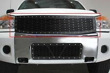Custom Grille Fits Nissan Titan 08-14 Truck Steel Aftermarket Top Main Grill Kit