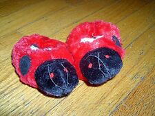 NEW - BEAR FACTORY - LADY BUG SLIPPERS - FOR TEDDY BEARS