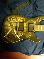Cort KX5-CQ Steven Jensen Revenge art guitar