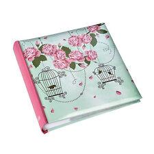 Vintage Rose Memo Photo Album Slip In Case 200 6 x4 photos Gift Album - BL200