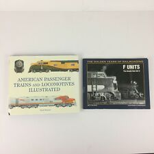 Train Books: The Golden Years of Railroading F Units & American Passenger Trains
