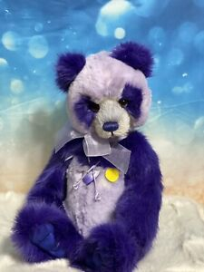PARMA VIOLET Charlie Bears Sassy Bear with a gorgeous face and Tyber Plush