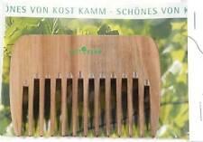Holz-Strähnenkamm extra-grob,Holzkamm,Kost Kamm Haarkamm,Frisierkamm stabil