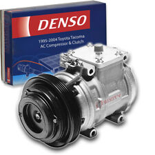 Denso Ac Compressor & Clutch for Toyota Tacoma 3.4L V6 1995-2004 Hvac Air ef
