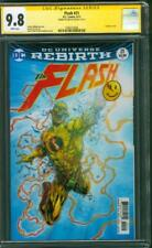 Flash 21 CGC SS 9.8 Ezra Miller Flashpoint Justice League Movie Button Cover