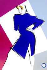 Ty Wilson EVE Fashion Model Style Lithograph Art Poster