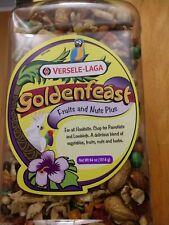 4 lbs Goldenfeast Fruits & Nuts Plus Bird Food 64 oz Veggies Herbs All Hookbills
