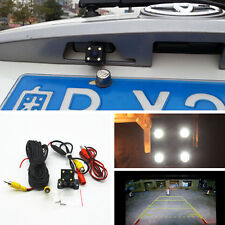 HD CCD Night Vision Car Rear View 4 LED Backup Reverse Parking Waterproof  Camer