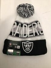 New Era Oakland Raiders Sport Knit Cap
