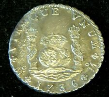 More details for super 1736 8 reale 'pillar' dollar or piece of 8  - rooswijk shipwreck 1739