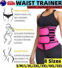 Womens Waist Trainer Shaper Cincher Tummy Trimmer Belt Slim Gym Body Shapewear
