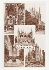 Rppc,Peterborough,U.K.5 Views - Peterborough Cathedral,Cambridgeshire, c.1909