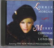 LORRIE MORGAN - MERRY CHRISTMAS FROM LONDON - NEW SEALED CD