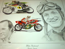 Mike Hailwood DUCATI Ncr Honda World Champion homenaje Isle of Man TT Ulster