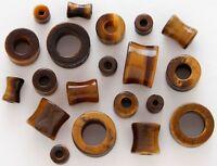 Wholesale Lot 10x 12g Acrylic Ear Plugs w// O Rings Twelve Gauge Random 5 Pair