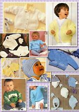 100+ Vintage BABY BOYS KNITTING PATTERNS on disc *Handsome Selection*