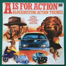 A IS FOR ACTION Soundtracks LP Power Pack Knight Rider Indiana Jones Superman UK