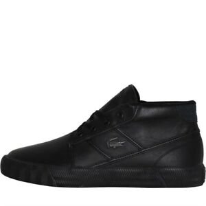 Lacoste Gripshot Chukka Leather Men's Sneakers Trainers Shoes black