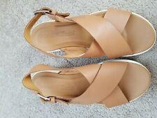 Timberland Women Ortholite 2-Straps Leather Buckle Slingback Sandals