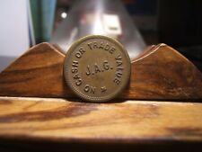 "J.A.G.  Trade Token  ""NO CASH OR TRADE VALUE"" Possibility Minnesota"