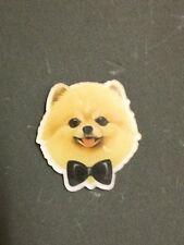 Celebrity Cute Boo Dog Pomeranian Paws Bowtie Kitsch Funky Christmas Gift Brooch