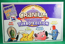 Cranium Turbo Edition Board Game Unsealed Never Used Complete Please Read