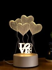 3D Acrylic LED Night light Touch Table Desk Lamp Gift