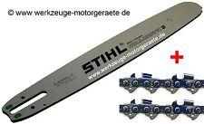 2 Sägeketten RMC + 1 Führungsschiene 40cm 3/8 / 1,6 / Stihl, 3003 000 6113