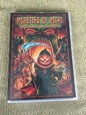 VARIOUS 'Monsters of Metal Vol.2' 2 DVD SET In Flames Anthrax Immortal Therion