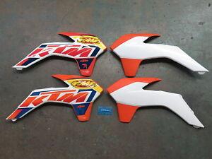 '14-15 KTM 125 150 200 250 300 350 450 500 EXC SX-F XC-W XC-F Shrouds + Graphics