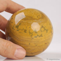 427g 68mm Natural Ocean Jasper Quartz Crystal Sphere Healing Ball Chakra Decor