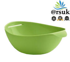 Silicon Steam Bowl Folding Microwave Steam Baking Roaster Baking Tray - Green