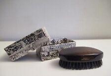 Vintage Wooden Handle Boar Bristle Valet Clothes Brush West Germany Nos