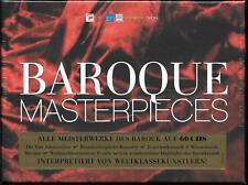60 CD Box Bach,Monteverdi .. `Meisterwerke des Barock - Limited Edition` Neu/Neu