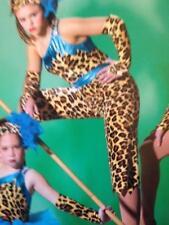 Dance Costume Jazz Hip hop disco tap tribal animal print jungle fantasy