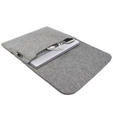 Tasche für Apple MacBook Pro 13,3 Zoll Hülle Schutz Case Sleeve Filz grau
