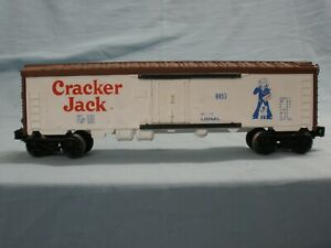 O Scale Trains Lionel Cracker Jack billboard reefer 6-9853