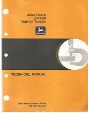 John Deere JD450-B Crawler Tractors & Loader Technical Service Manual