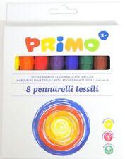Tessuto colorato contrassegni MAGLIETTA PENNE Abiti PENNE PENNA PENNARELLO x 6