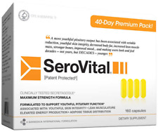 SEROVITAL DIETARY SUPPLEMENT, MAX. STRENGTH, LOOK & FEEL YOUNGER 160 count 03/20