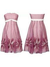 "BNWT "" Coast "" Size 8 Gable Organza Dress (36 EU) Wedding Bridesmaid Party New"