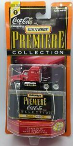 NEW! 1998 MATCHBOX Premiere COCA-COLA Collection Series 1 MACK CH-600