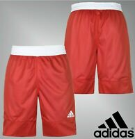 Mens Adidas Mesh Comfortable Stripe Rev Basketball Shorts Sizes from S to XXL