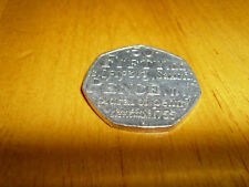 Diccionario raros/Johnson 2005 Fifty moneda peniques/50p/plural de Penny/Medallas/monedas